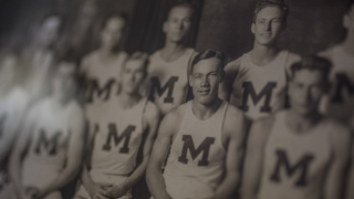 1930s Image of a NMT basketball team