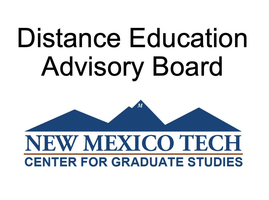 Distance Education Advisory Board