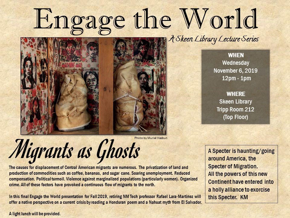 Flyer for November 2019 Engage the World
